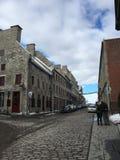 在城市街道的Selfie 图库摄影