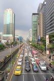 在城市,曼谷,泰国交易 免版税库存照片