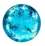 在培养皿的可变的艺术 五颜六色的酒精,墨水,在培养皿的居住的五颜六色的细菌 图库摄影