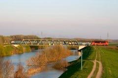 在培训的运河 免版税库存图片