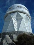 在基特峰的望远镜 免版税库存图片