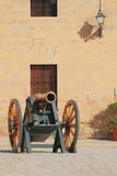 在堡垒圣卡洛斯 伯尔马de Majorca,西班牙 库存图片