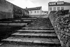 在堡垒附近的兹诺伊莫楼梯 免版税库存图片
