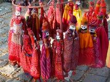 在堡垒高知,喀拉拉的老市场 库存图片