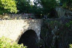 在堡垒Tryon公园第4部分27的2015中世纪节日 库存照片