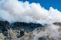 在堪察加,俄罗斯的Avacha火山, 免版税库存照片