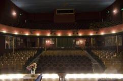 在塔博尔歌剧院里面在Leadville,科罗拉多 免版税库存图片