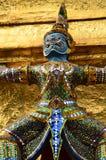 巨型寺庙Wat Phra Kaew曼谷泰国 免版税图库摄影