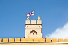在塔的泰国标志。 免版税图库摄影