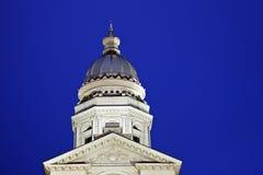 在塞恩,怀俄明指明国会大厦大厦 免版税库存图片