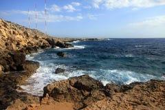 在塞浦路斯的Kavo格雷科地区 库存图片