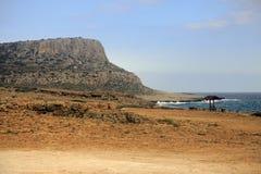 在塞浦路斯的Kavo格雷科地区 免版税库存图片