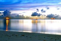 在塞班岛海岛上的一个了不起的假期  库存图片