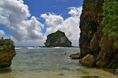在塞班岛海岛上的值得买  免版税库存图片