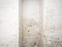 在墙壁上的潮湿的湿气 免版税库存图片