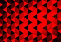 红色三角 库存图片