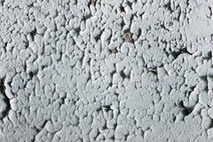 在墙壁上的老油漆对桌面背景,破旧的墙壁 库存照片