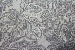 在墙壁上的花卉背景墙纸 图库摄影