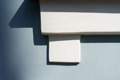 在墙壁上的装饰建筑元素 免版税库存图片
