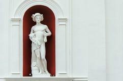在墙壁上的赫姆斯 免版税库存图片