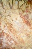 在墙壁上的结构膏药 免版税库存图片