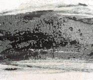 在墙壁上绘的破裂 剥被绘的颜色背景 免版税库存照片