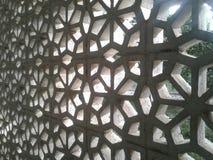 在墙壁的孔空气环流的 免版税库存照片