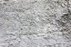 在墙壁的被腐蚀的老灰色混凝土肮脏的纹理的,背景 免版税图库摄影