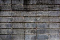 在墙壁,曼谷的肮脏的具体块在泰国 免版税库存照片