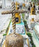 在墨西哥公墓的十字架 图库摄影