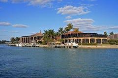 在墨西哥湾的庄园 库存图片