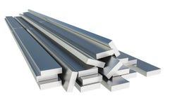 在壁角形状-产业概念的钢金属外形 库存图片