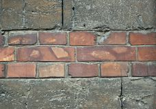 在壳的纹理,老大厦在傲德萨9 库存照片