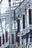 在处理作用的强有力的HDR的天然气产业 库存照片