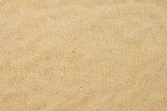 在夏天太阳的美好的海滩沙子 免版税图库摄影