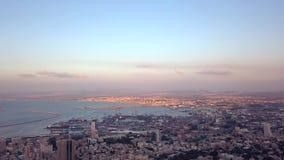 在夏天期间,以色列的跨线桥 股票录像