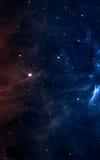 在外层空间的Starfield远离地球的许多光年 美国航空航天局装备的这个图象的元素 免版税库存图片