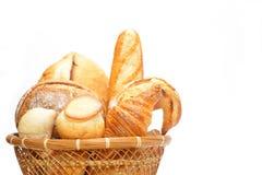 在多种上添面包 库存照片