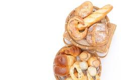 在多种上添面包 免版税库存照片