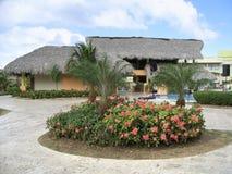 在多米尼加共和国的度假胜地 库存图片