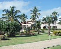 在多米尼加共和国的度假胜地 图库摄影