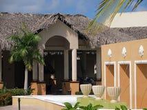 在多米尼加共和国的度假胜地 免版税库存图片