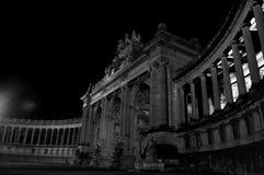 在夜汇集13的大厦 免版税图库摄影