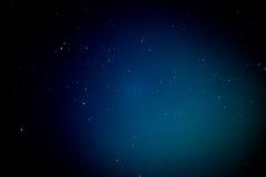 在夜空的抽象星 免版税库存照片