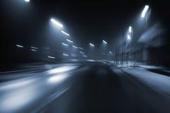 Nightdrive 免版税库存图片