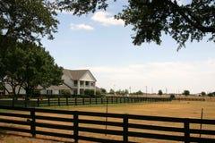 在大农场southfork附近的达拉斯 免版税库存图片