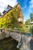 在大别墅de l'Islette,法国附近的美丽的房子 免版税库存照片
