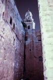 在大卫国王附近耸立坟茔在老城耶路撒冷,以色列 免版税库存照片