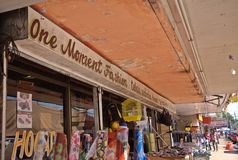在大卫-巴拿马的商业街II 库存照片