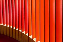 在大厦建筑学的抽象线 免版税图库摄影